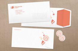 5 creative envelope designs branding