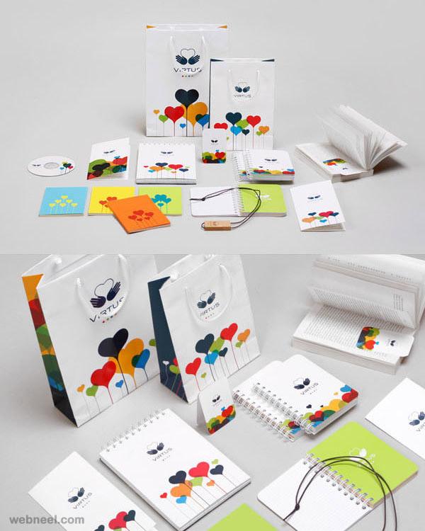 5 virtus creative branding design