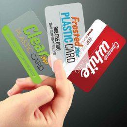 Plastic Business Cards San Antonio TX large